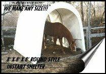 custom sized shelters
