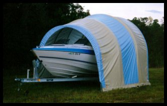 Portable Shelters - Boat Storage