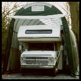 Portable Shelters - RV Storage